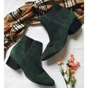 UO | Suede Leather Chelsea Ankle Boots
